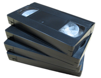 Tape Formats: VHS, VHS-C, Digital 8, Hi 8, Mini DV